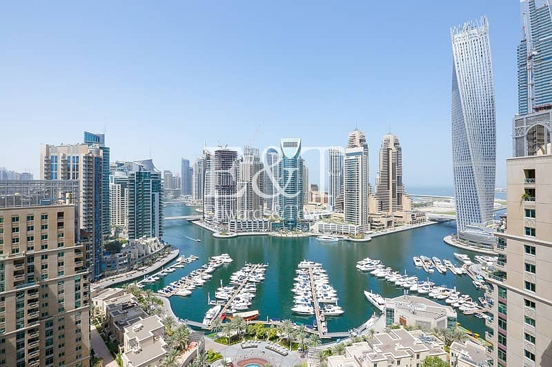 Fully Upgraded with Breathtaking Full Marina View