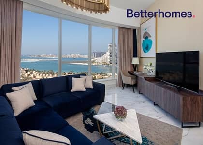 2 Bedroom Flat for Rent in Palm Jumeirah, Dubai - All Bills Included | New Building | Luxury Finishing
