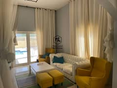 5 Bedroom Mazaya A1 with Pool Vacant for Rent