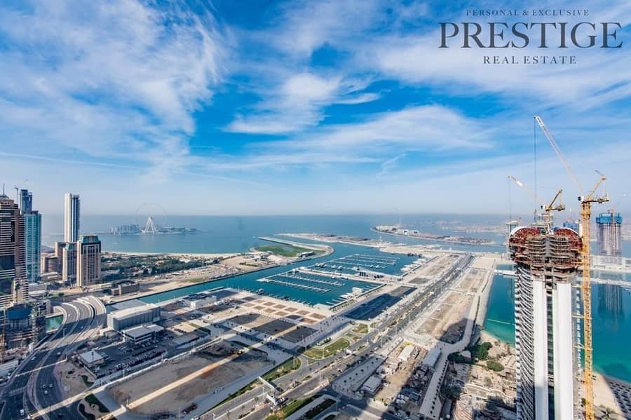 2 Large 2 Bedroom | High Floor | Full Sea View | Fully Upgraded