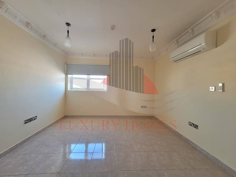 Bright and Spacious with Semi Furnished Kitchen