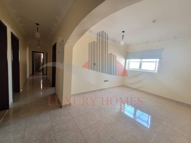 2 Bright and Spacious with Semi Furnished Kitchen