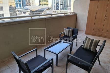 فلیٹ 1 غرفة نوم للايجار في دبي مارينا، دبي - Cozy 1 bedroom apartment with balcony
