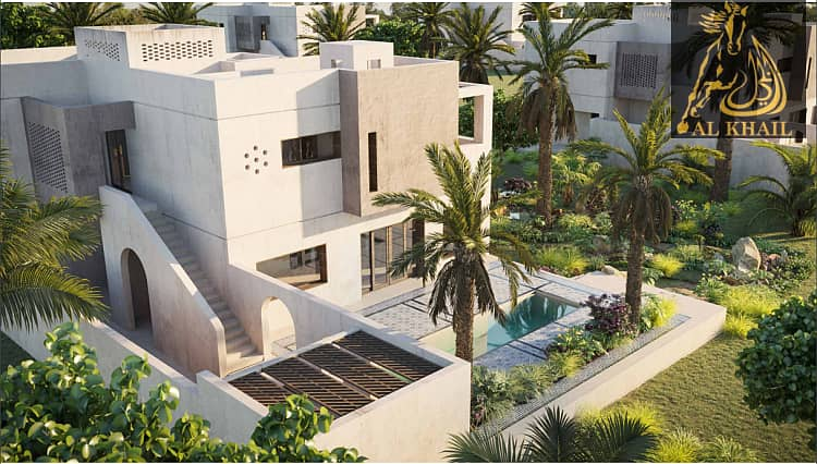 16 Luxurious 4br Villa With Huge Balcony And Parking