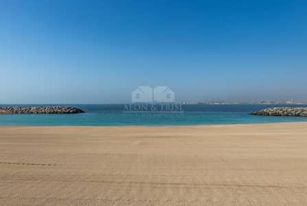 ارض سكنية  للبيع في جميرا، دبي - Ocean-front plots | Payment plan and fee waiver | Meraas