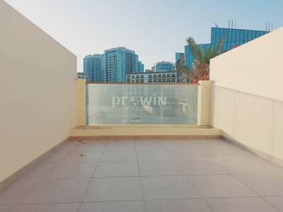استوديو  للايجار في أرجان، دبي - Big Terrace    Open View  Fully Kitchen Equipped   Very Spacious Studio Apt For Rent !!!