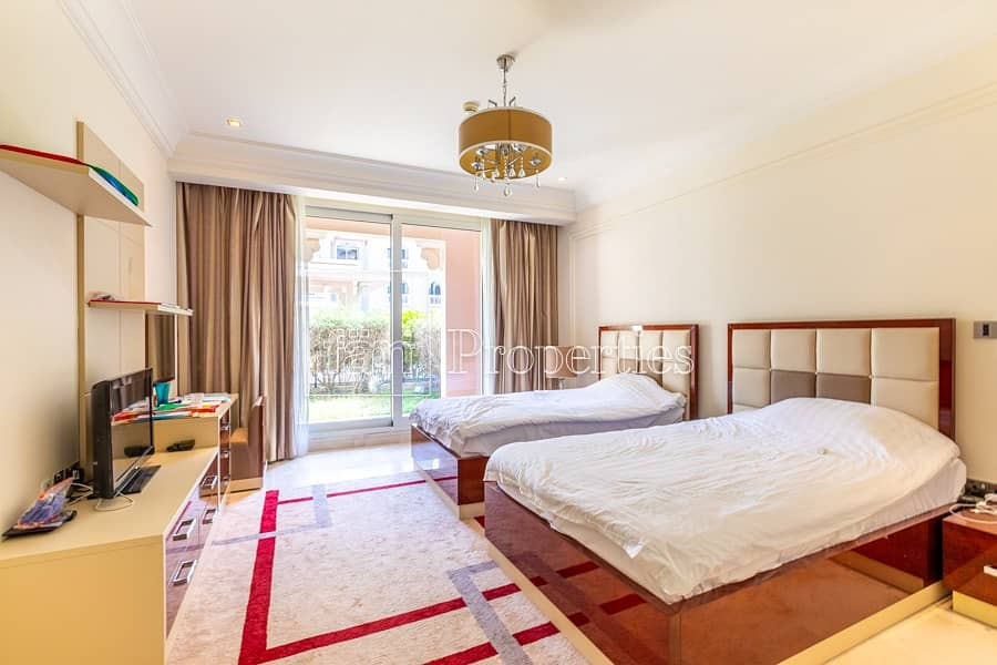 2 Luxurious apt with serviced amenities with garden