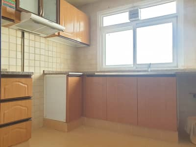 1 Bedroom Flat for Rent in Al Qulayaah, Sharjah - Well Maintain 1bhk with central Ac Central Gas family building near to Sharjha Coperative Society