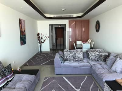 2 Bedroom Apartment for Sale in Corniche Ajman, Ajman - 2 Bed Room With Maid Room | Back Side City view  | For SALE