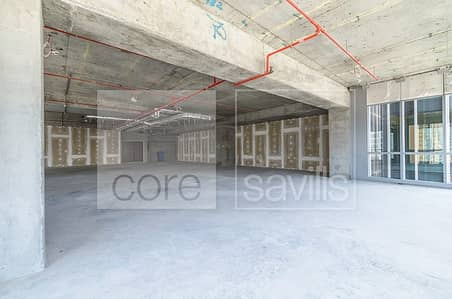 Shell and core office on rent | Marina Plaza