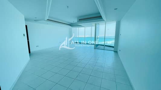 3 Bedroom Apartment for Rent in Corniche Area, Abu Dhabi - Magnificent Residence in Sea View! 3BR+Maids Room I Balcony