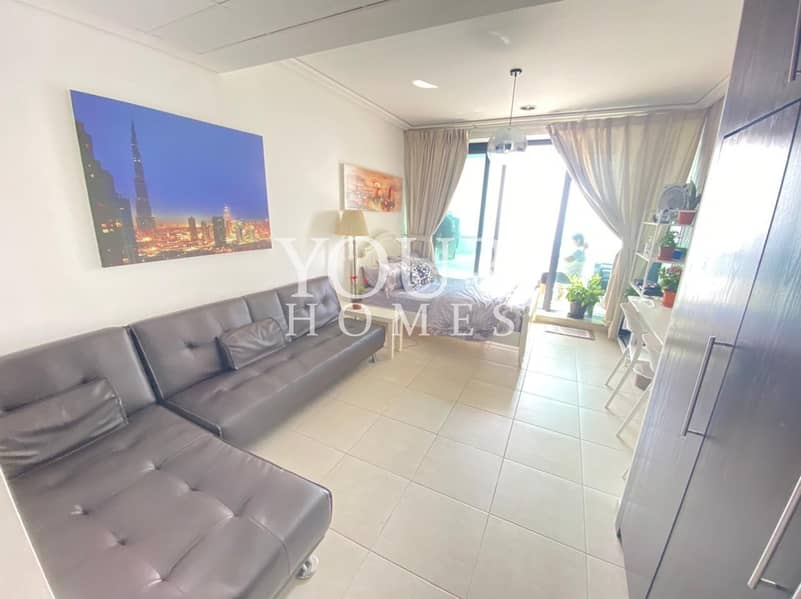 2 SO | Exclusive Fully Furnished Studio With Balcony For sale