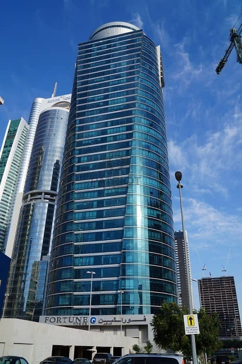 Fitted and Furnished Office | High Floor | JLT | close to Metro