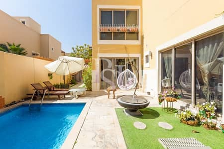 5 Bedroom Villa for Sale in Al Raha Gardens, Abu Dhabi - Hot Deal! Lavish Upgraded Villa with Private Pool