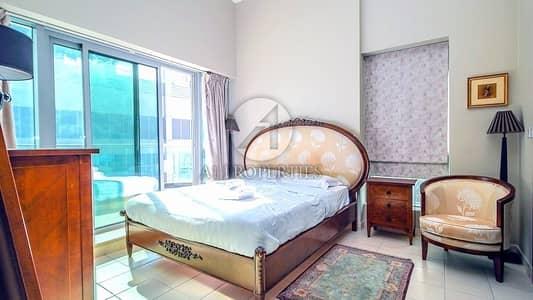 شقة 1 غرفة نوم للايجار في دبي مارينا، دبي - Only Couple NO Kids - Furnished - Low Floor