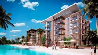 1BR at District One , Access in Beach &  Crystal Lagoon. .