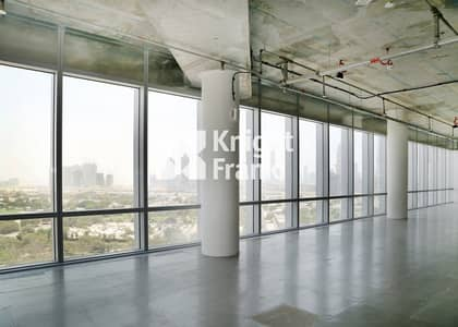 مکتب  للايجار في مركز دبي المالي العالمي، دبي - Grade A | Raised Flooring | Burj Khalifa View