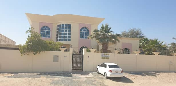 6 Bedroom Villa for Rent in Al Ramtha, Sharjah - Large villa for rent in Ramtha area 120,000 thousand dirhams annually