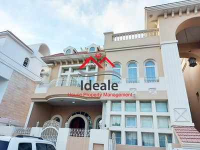 6 Bedroom Villa for Rent in Al Karamah, Abu Dhabi - Supreme 6BR villa with  basement parking and big terrace