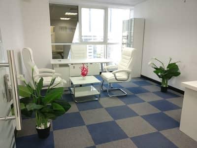 مکتب  للايجار في شارع الشيخ زايد، دبي - Well Maintained Office | Cheap Price | Furnished