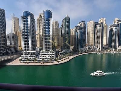 3 Bedroom Apartment for Sale in Dubai Marina, Dubai - Outstanding Full Marina View | 3 BR+Maid | 800 per/sqft