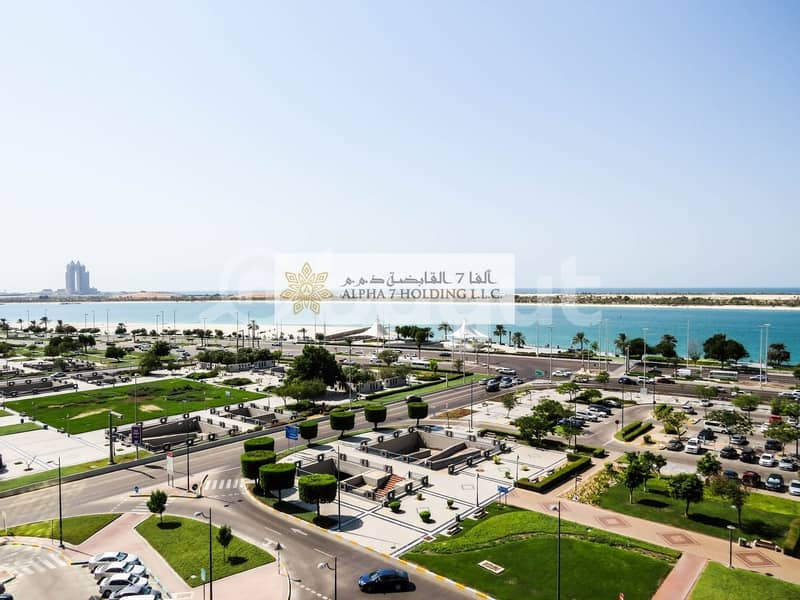 Direct from Landlord (No commission) - Commercial Office for Lease - Corniche with Amazing Views