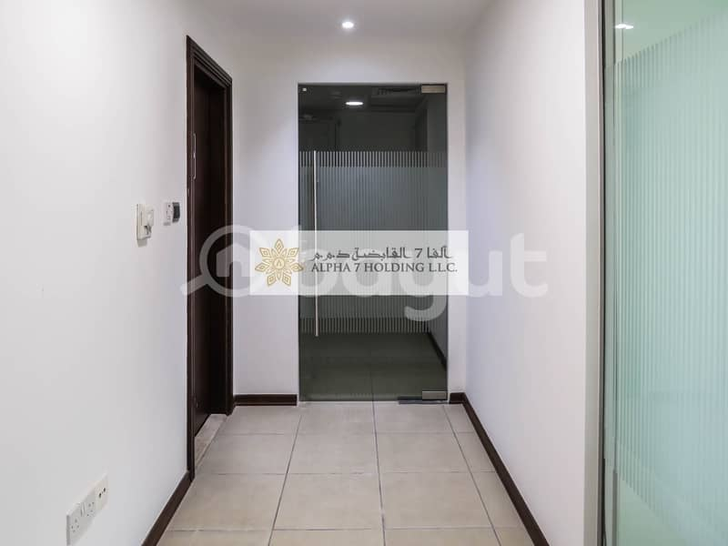 2 Direct from Landlord (No commission) - Commercial Office for Lease - Corniche with Amazing Views