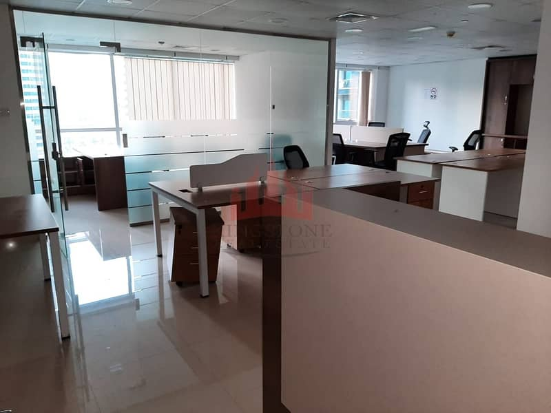 2 Fully Fitted Office in JBC 2 JLT for Rent