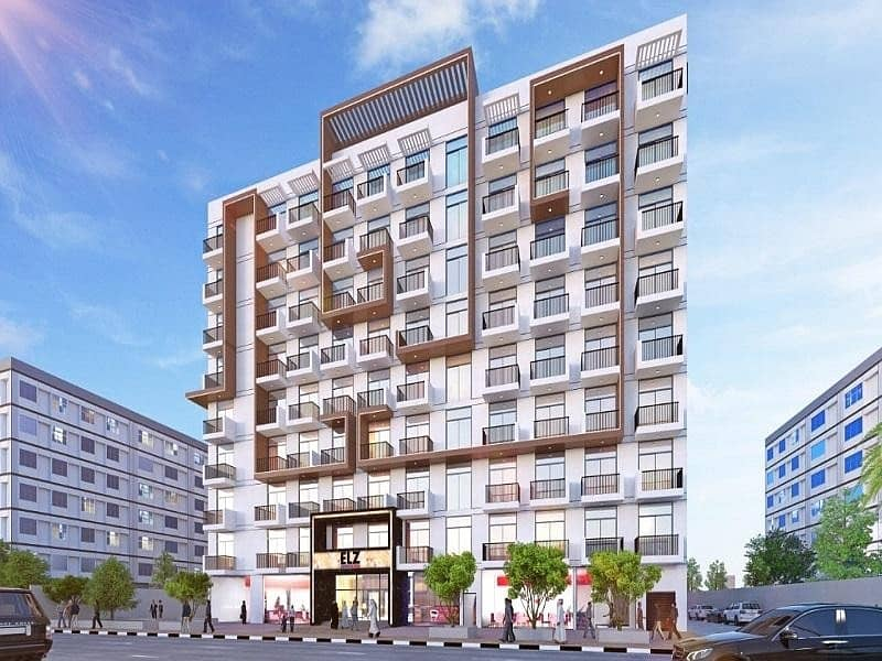 2 1 Bedroom  Apartment For Sale  In Arjan | 5 Years | Payment Plan With 1% Monthly Pay