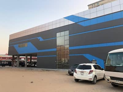 Showroom for Rent in Al Nuaimiya, Ajman - BRAND NEW HUGE  SHOWROOM WITH MEZZANINE AVAILABLE FOR RENT