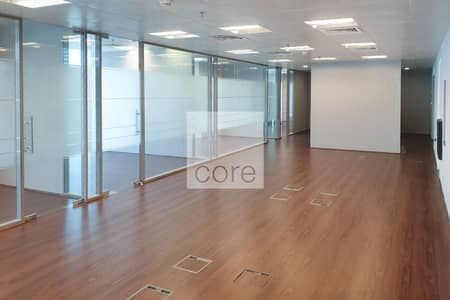 Office for Rent in Business Bay, Dubai - Fitted and Partitioned | 3 Parking | DED