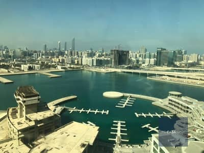 2 Bedroom Apartment for Rent in Al Reem Island, Abu Dhabi - 4 cheques | Study room + maid's room