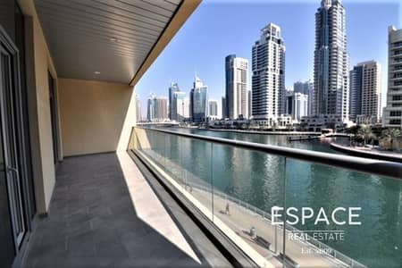 Unique 1BR Plus Store with Full Marina View
