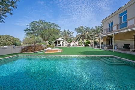5 Bedroom Villa for Sale in Dubai Sports City, Dubai - Awe-inspiring B1 | Golf Course View | Private Pool