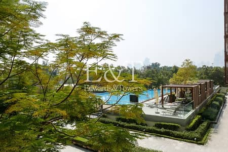 1 Bedroom Flat for Rent in The Views, Dubai - Vacant | One Bed with Pool View | Unfurnished
