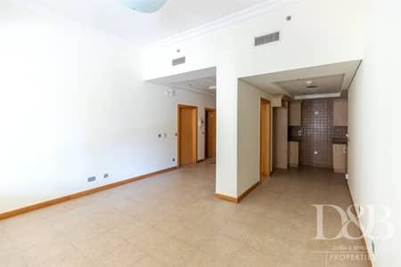 فلیٹ 1 غرفة نوم للايجار في نخلة جميرا، دبي - Unfurnished | Well Maintained | Ground Floor