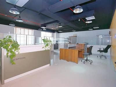 Furnished Office With Parking & AC Free