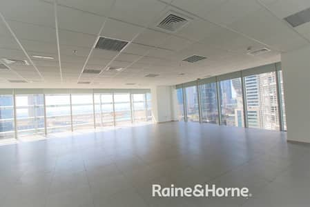 Office for Rent in Business Bay, Dubai - Excellent Office | Partitioned | Unfurnished