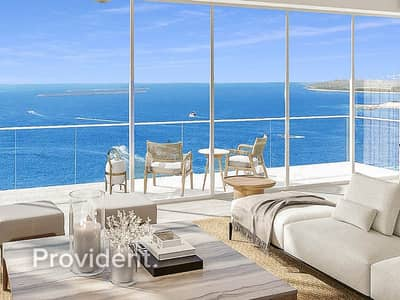 4 Bedroom Apartment for Sale in Jumeirah Beach Residence (JBR), Dubai - 180 Degrees Full Sea View | Private Beach