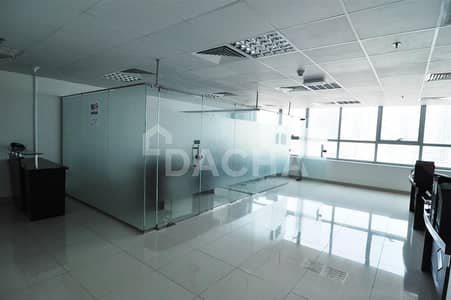 Office for Sale in Jumeirah Lake Towers (JLT), Dubai - Best price / Fitted office with glass partitions