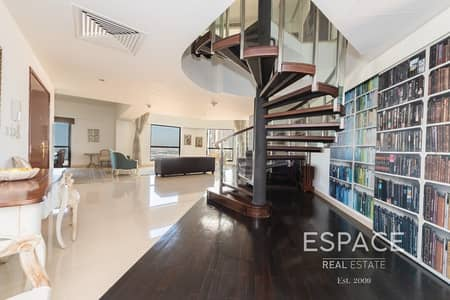 Exclusive 3 Bed Duplex with Full Sea View