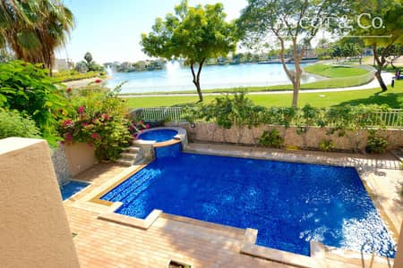 5 Bedroom Villa for Sale in The Meadows, Dubai - Lake View | Next To School | Type 7|Pool