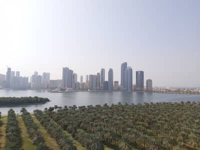 3 Bedroom Apartment for Rent in Corniche Al Buhaira, Sharjah - Chiller Free Luxury 3BR with Balcony and Sea View at Buhairah