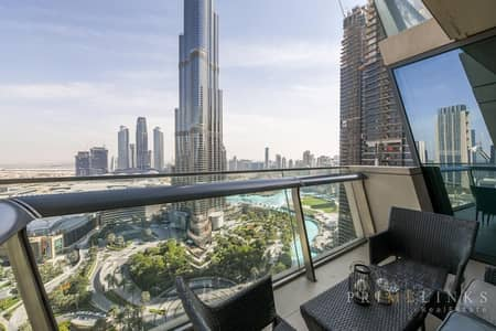 2 Bedroom Apartment for Sale in Downtown Dubai, Dubai - Breathtaking Views | Immaculate | Vacant
