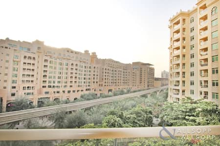 فلیٹ 1 غرفة نوم للايجار في نخلة جميرا، دبي - 1 Bedroom | Park View | D Type | Mid floor