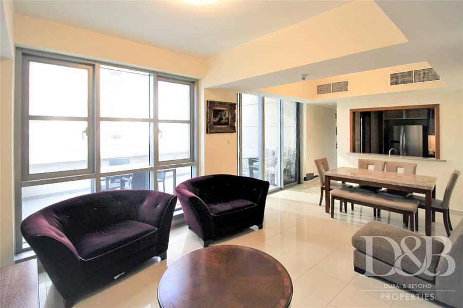 2 Burj Views | One of a kind | Large Terrace