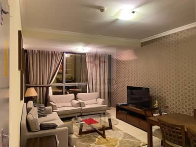 2 Bedroom Flat for Rent in Jumeirah Lake Towers (JLT), Dubai - High Floor 2 Bedroom Fully Furnished in Global Lake View
