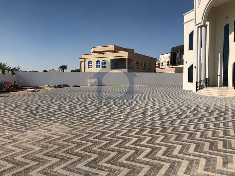 18 Brand New Villa In Shakhbout City 7 Bedrooms