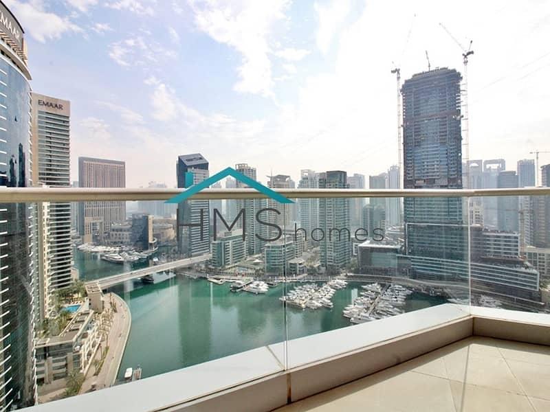 Full Marina View - 2 Bedroom - Aurora Tower - Top Floor Unit