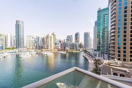 2 Bedroom Flat for Rent in Dubai Marina, Dubai - Marina Lake View 2BR Furnished Apt in Aurora Tower